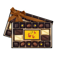 Santa Hat Ho Ho Ho Signature Chocolate Box