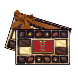 'Tis the Season to be Jolly! Signature Chocolate Box