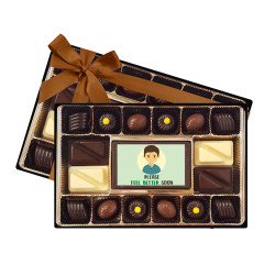 Please Feel Better Soon Signature Chocolate Box