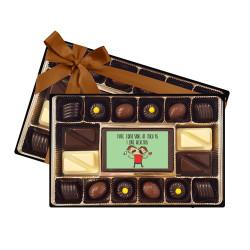 I Hate Comic Sans Signature Chocolate Box