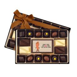 Don't Feel De-Feet-Ted Balloon Chocolate Box