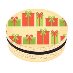 Gift Boxes Christmas Printed Macarons
