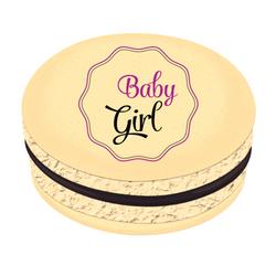 Baby Girl Printed Macarons