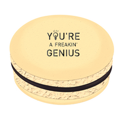 You're a Freakin' Genius Printed Macarons