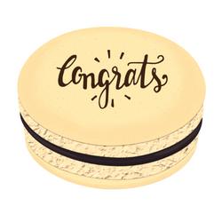 Congrats Printed Macarons