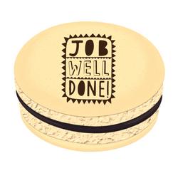 Job Well Done! Printed Macarons