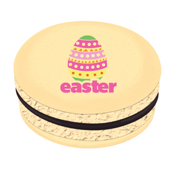 Colorful Easter Egg Printed Macarons