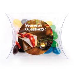 Season's Greetings Christmas Pillow Box