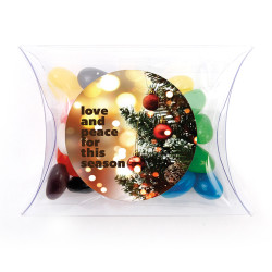 Love & Peace Christmas Pillow Box