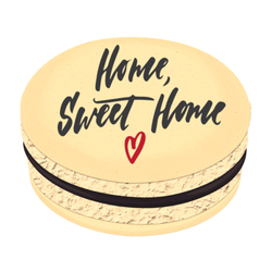 Home Sweet Home ♥ Printed Macarons