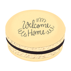 Welcome Home Printed Macarons