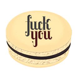 Fuck You Printed Macarons
