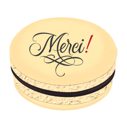 Merci! Printed Macarons