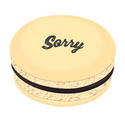 Sorry Printed Macarons