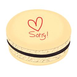 ♥ Sorry! Printed Macarons