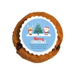 Merry Christmas 1 Christmas Printed Cookies