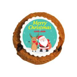 Merry Christmas 5 Christmas Printed Cookies