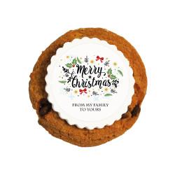 Merry Christmas 2 Christmas Printed Cookies