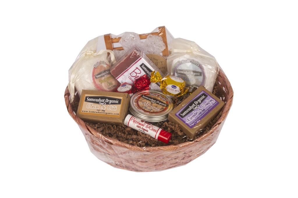 """""""LARGE Favorites Sampler"""" Organic Gift Basket"""