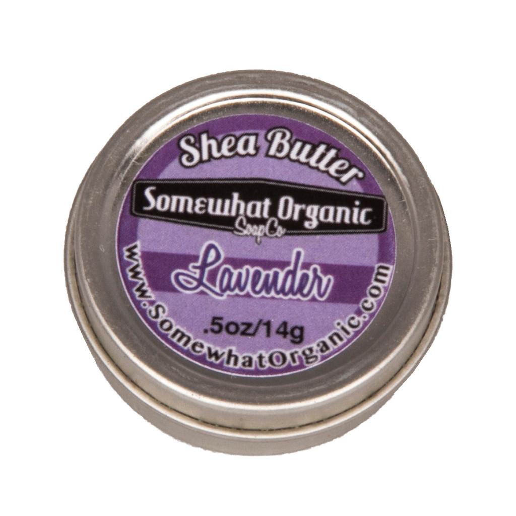 Lavender Organic Shea Butter Body Creme - small