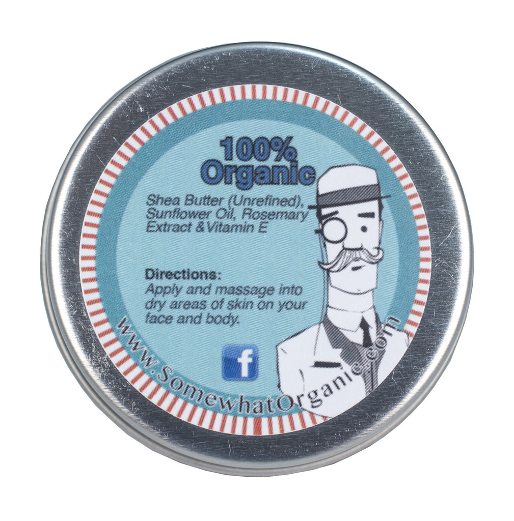 Unscented Organic Shea Butter Body Creme - 1.8 oz
