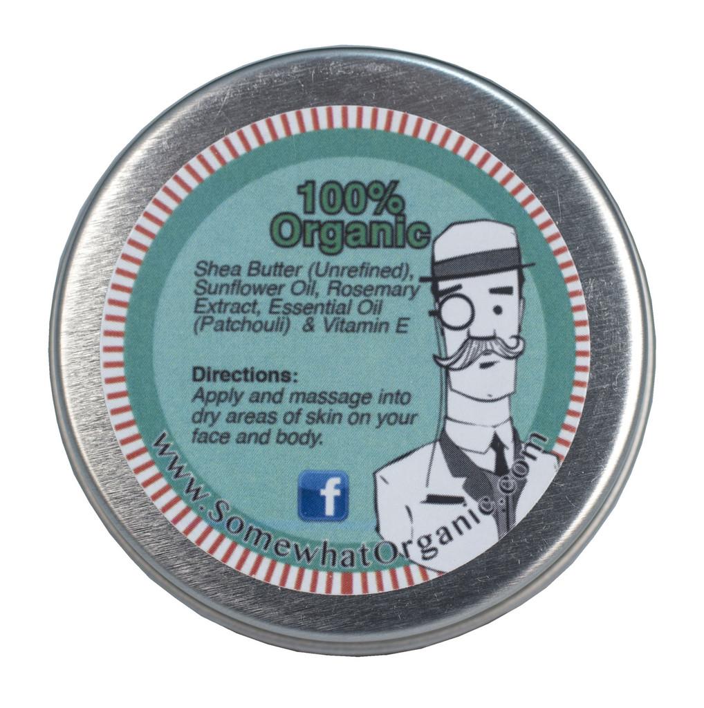 Patchouli Organic Shea Butter Body Creme - 1.8 oz
