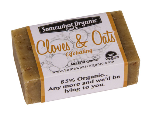 Cloves & Oats Organic Soap - 4 oz Bar