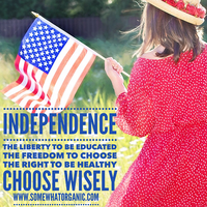 INDEPENDENCE! And the FREEDOM to be healthy and educated.
