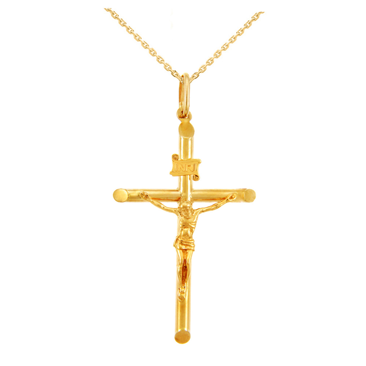 christian jesus wholesale plated catholic double men pendant necklace long gold charm rosary religious bead product