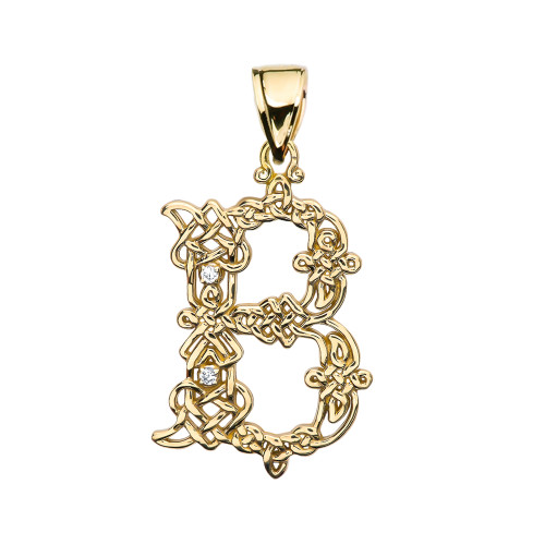 in silver b amazing sterling diamond on initial pendant deal shop