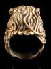 Pride Lion Ring Bronze