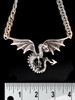 Sterling Silver Spread Winged Dragon