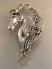 Spirit Horse Ear Wrap - Silver