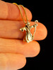 Wizard Charm - 14K Gold