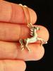 Arabian Nights Horse Charm in 14K Gold