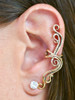 French Twist Ear Cuff - 14K Gold