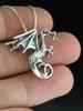 Dragon - Fire Dragon Pendant