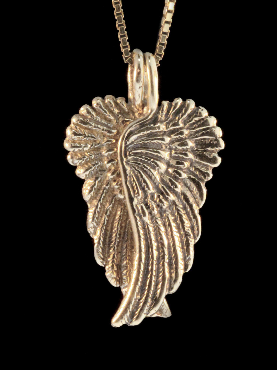 Guardian angel wing pendant 14k gold jewelry gold guardian angel wing pendant 14k gold aloadofball Choice Image