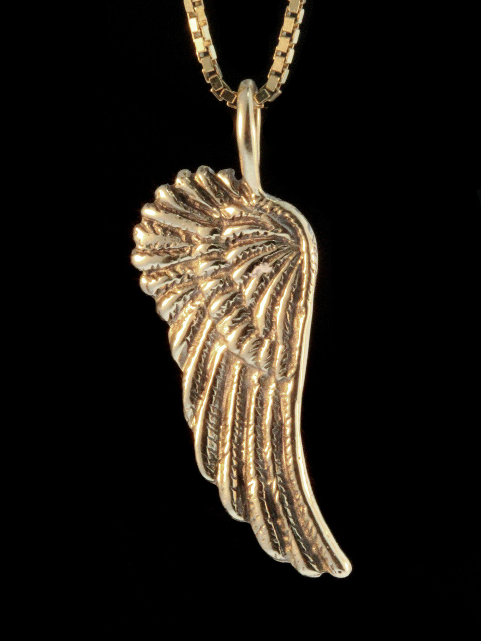 Guardian angel wing charm 14k gold jewelry gold guardian angel wing charm 14k gold aloadofball Choice Image
