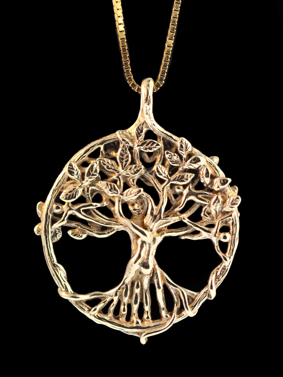 life silver rose of necklace shop tree biba pendant