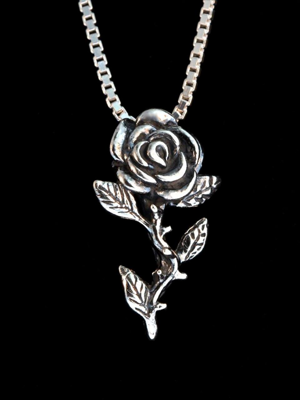 Flower Rose Charm Jewelry