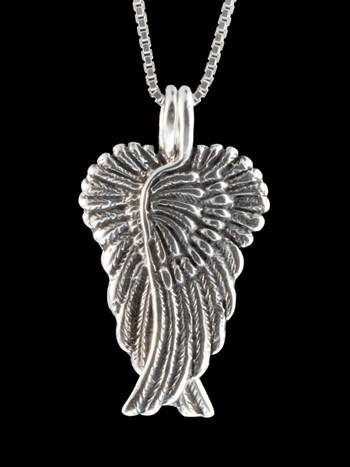 Guardian Angel Wing Pendant Jewelry
