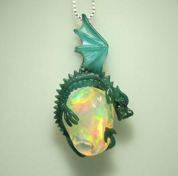 Luna Dragon Pendant Jewelry