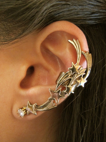 Comet Ear Cuff Bronze Marty Magic Store