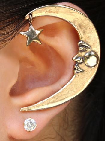 Moon Ear Wrap - Bronze