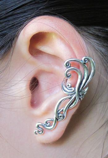 Siren's Song Ear Cuff - Silver