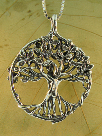 Circle of life tree pendant silver marty magic store circle of life tree pendant silver aloadofball Gallery
