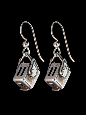 Flying Toaster Earrings