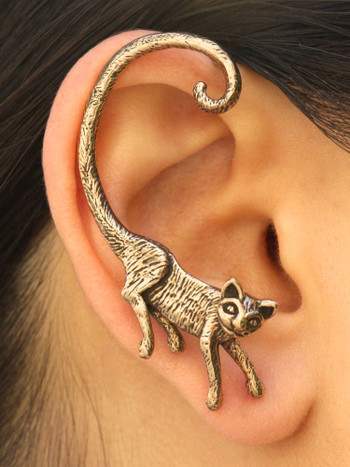 Cat's Meow Ear Wrap - Bronze