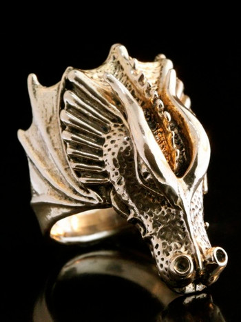 Valor Dragon Ring - Bronze